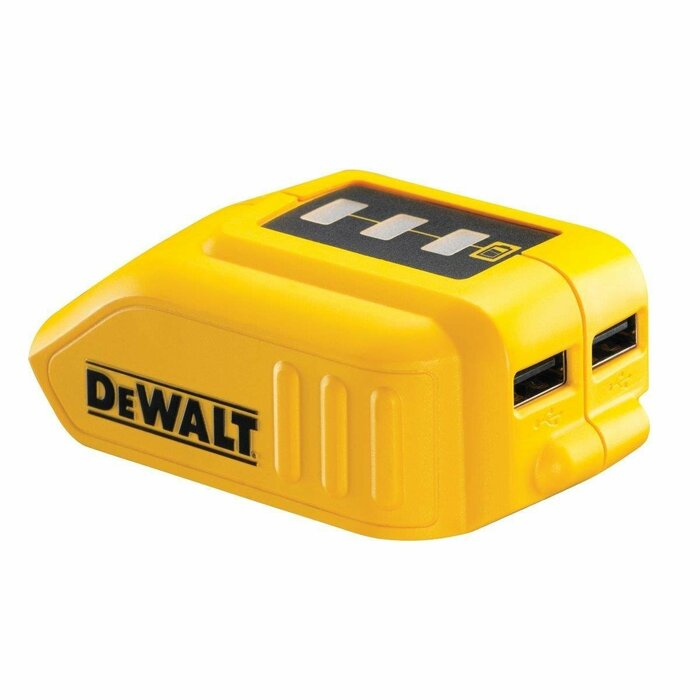 DeWALT DCB090 power adapter/inverter Black,Yellow