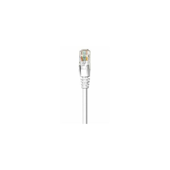 Intellinet 1m Cat5e 1m Cat5e U/UTP (UTP) White networking cable