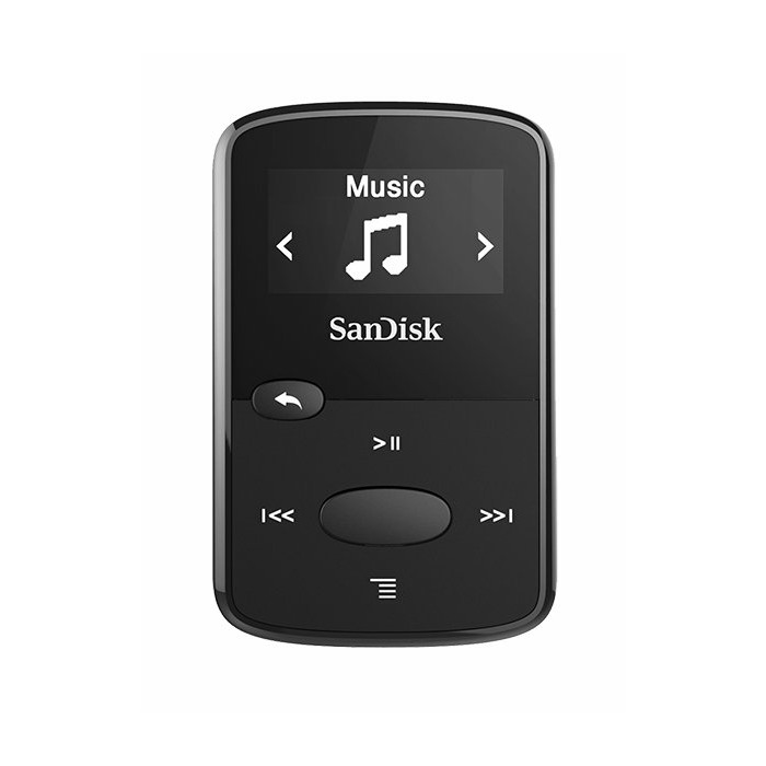 Sandisk SDMX26-008G-G46K MP3 player Black 8 GB