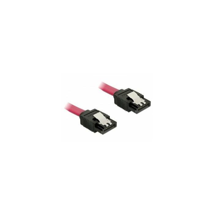 DeLOCK 82676 SATA cable 0.3 m Red