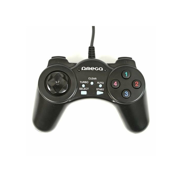 Omega OGP70 gaming controller Gamepad PC Black