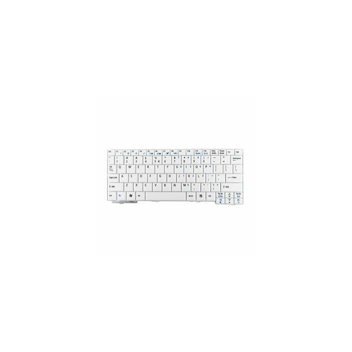 Whitenergy Keyboard for Acer Aspire One  A110, A150, D150, D250, P531 - white