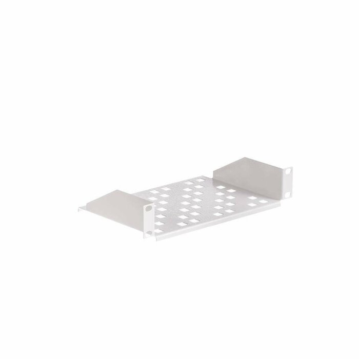 Netrack equipment shelf 10'', 1U/150mm, grey