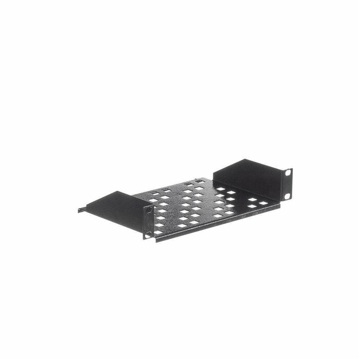 Netrack equipment shelf 10'' 1U/150mm, charcoal