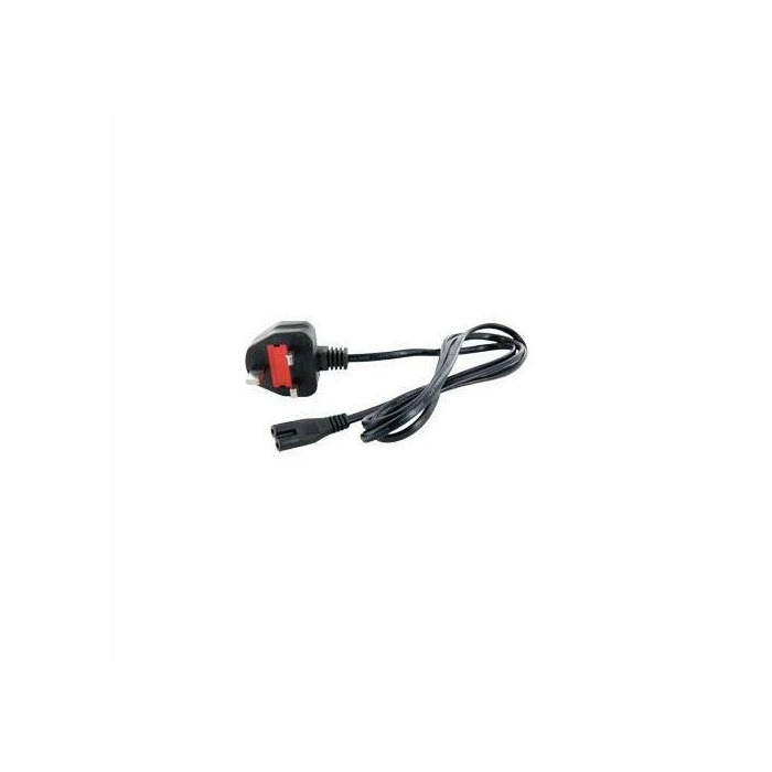 4World Computer 2-wire power cord UK 1,5m