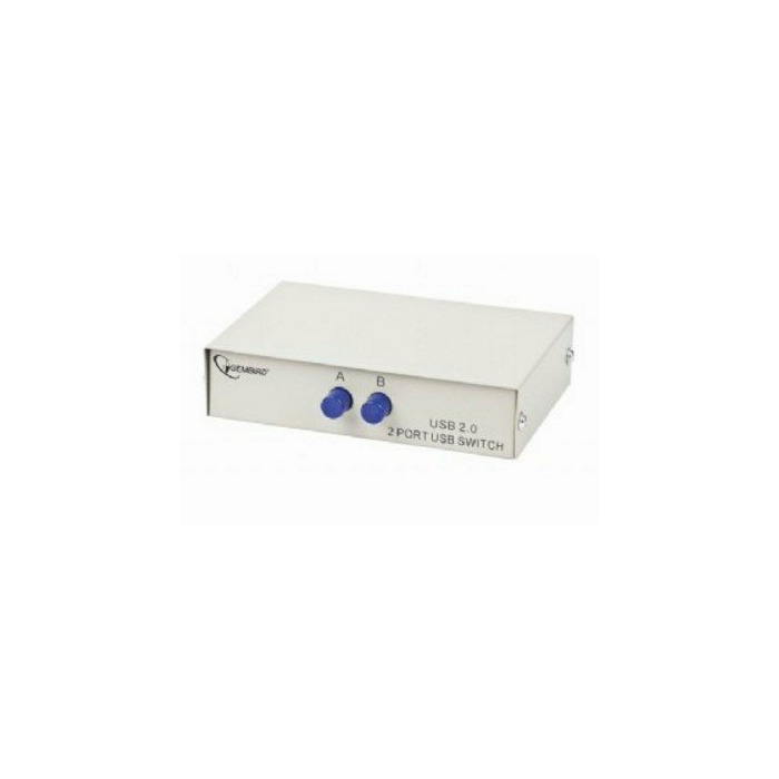 Gembird DSU-21 KVM switch White