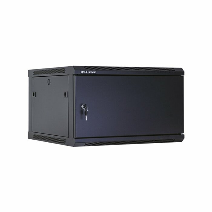 Linkbasic WCB06-66-AAA-C Wall mounted rack 6U 60kg Black rack