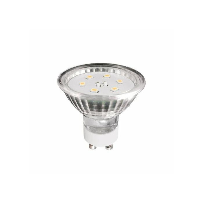 ART LED Bulb, GU10, 1.2W, AC230V, 100lm, WW, blister