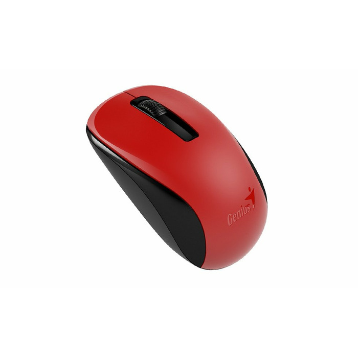 Genius NX-7005 mice RF Wireless BlueEye 1000 DPI Ambidextrous Black, Red