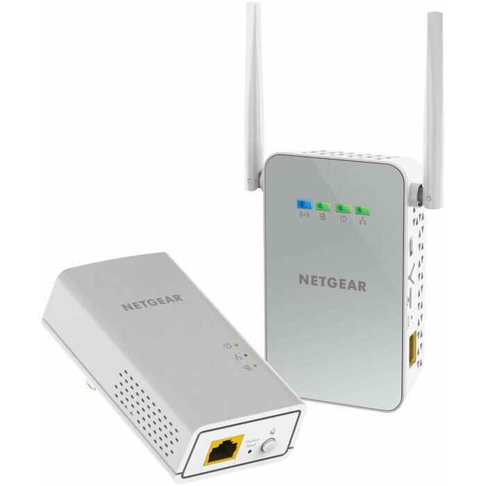 Netgear PowerLINE 1000 + WiFi Ethernet LAN Wi-Fi White 2 pc(s)