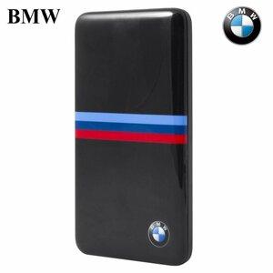 BMW BMPBSBN M-Power Power Bank 4800mAh ārējs akumulātors 5V 1A USB Ligzda + Micro USB Kabelis Melns