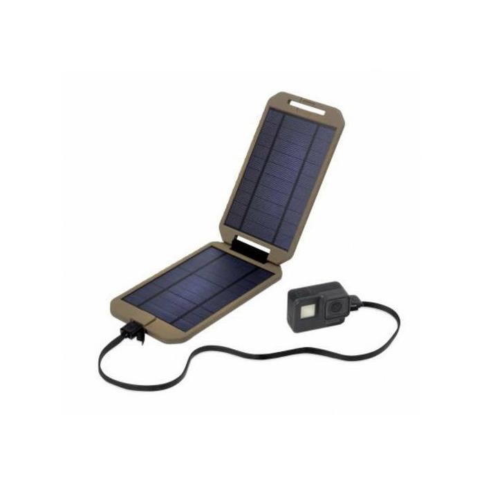 Power Traveller Solar-Ladegerät Powerbank Solar Extreme Tactical PTL-EXT001 TAC Ladestrom Solarzelle 1000 mA 5 W Kapazit (PTL-EXT001 TAC)