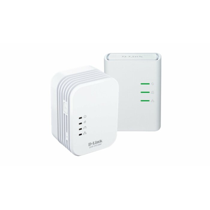 D-Link DHP-W311AV/E PowerLine network adapter 500 Mbit/s Ethernet LAN Wi-Fi White 1 pc(s)