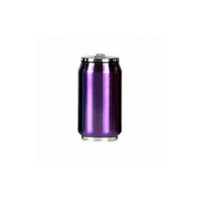 Yoko Design 1286-7672P Isotherm tin can 280ml, Stainless steel, Shiny purple
