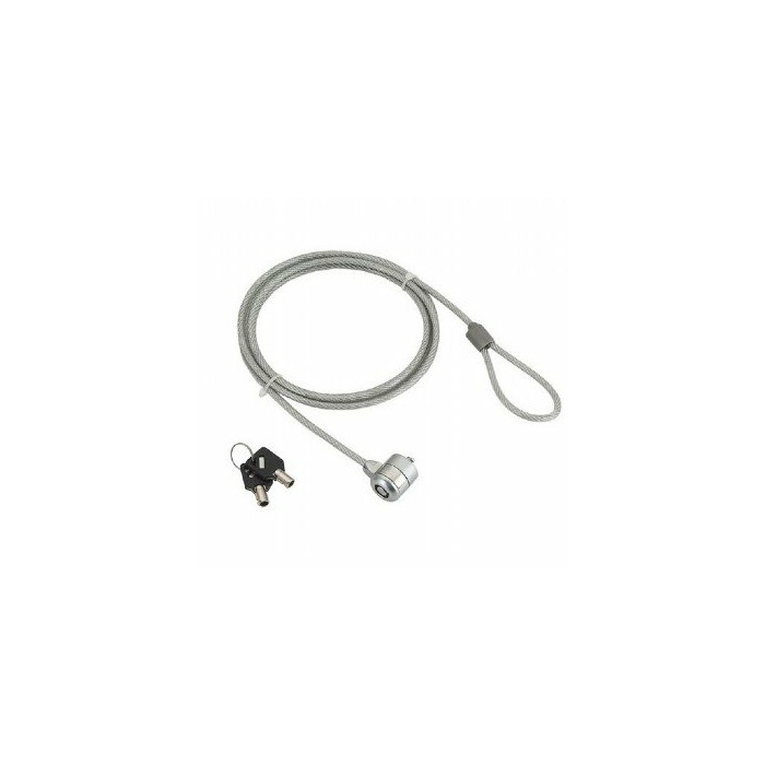 Gembird LK-K-01 1.8m Silver cable lock