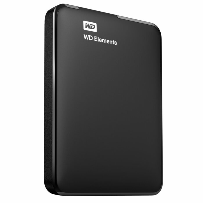 Western Digital WD Elements Portable external hard drive 500 GB Black