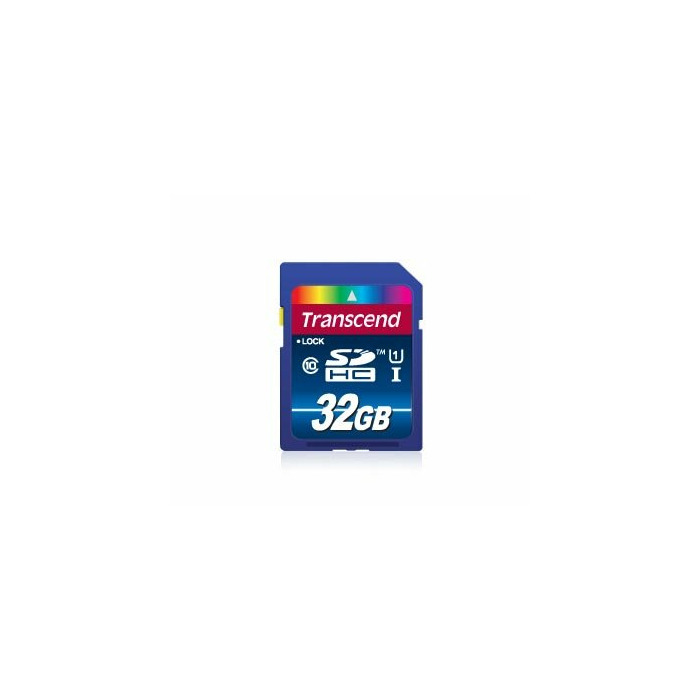 Transcend 32GB SDHC Class 10 UHS-I memory card