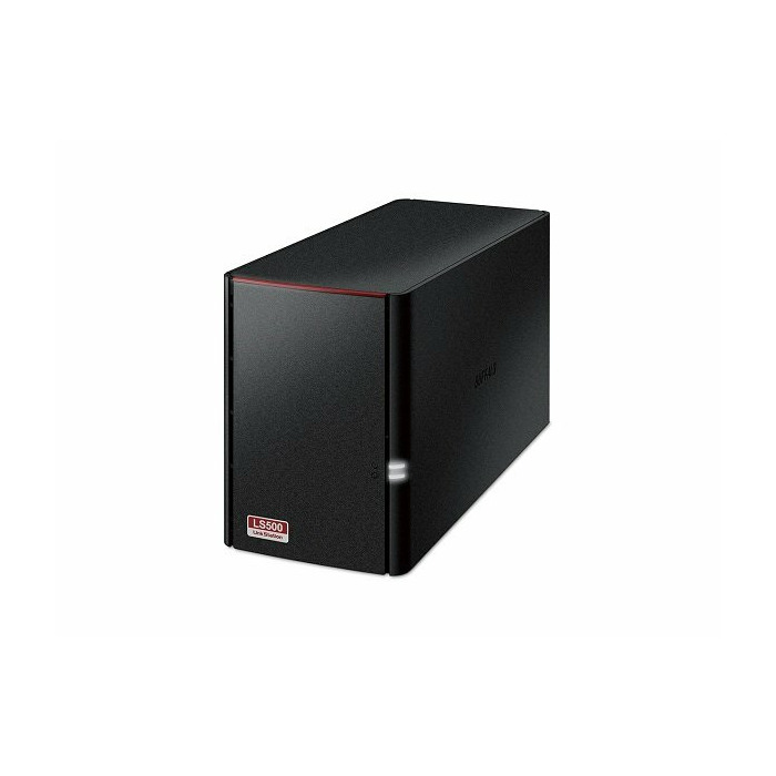 Buffalo LinkStation 520 Ethernet LAN Compact Black NAS