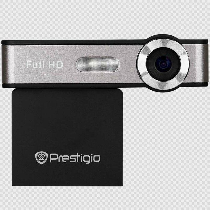 Car Video Recorder PRESTIGIO RoadRunner 507GPS (FHD 1920x1080@25fps, 2.0 inch screen, NT96223, 2 MP CMOS Samsung 5B3 image sensor, 12 MP camera, 120° Viewing Angle, Micro USB, 230 mAh, GPS, Automatic Night Mode, Motion Detection, Electronic Image Stabilization, G-sensor, Cyclic Recording, Black&Gun, Plastic)