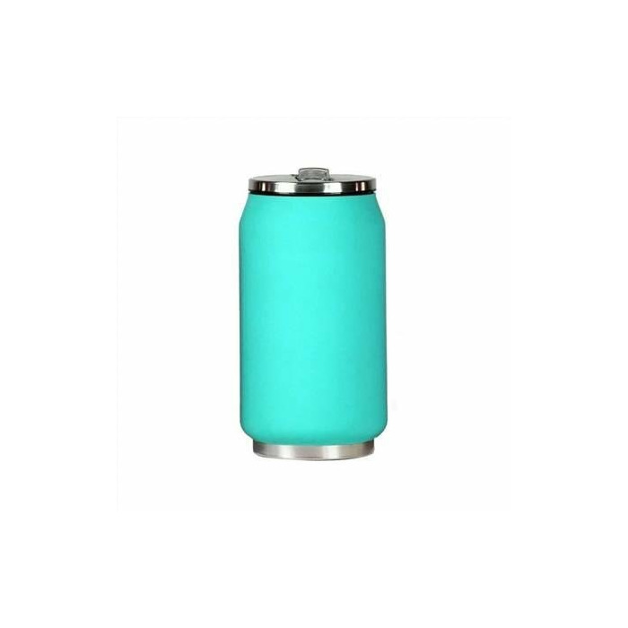 Yoko Design Isotherm Tin Can 280 ml, Soft touch turquoise
