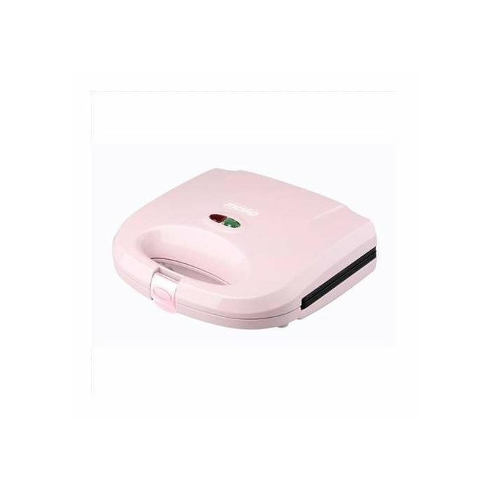 Mesko MS 3029p Sandwich maker, 750W, Non-stick plated, Ready light indicator, Slide-resistant feet, Pink Mesko