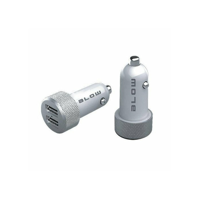 BLOW Car Charger with USBx2 4,8A IQcharge