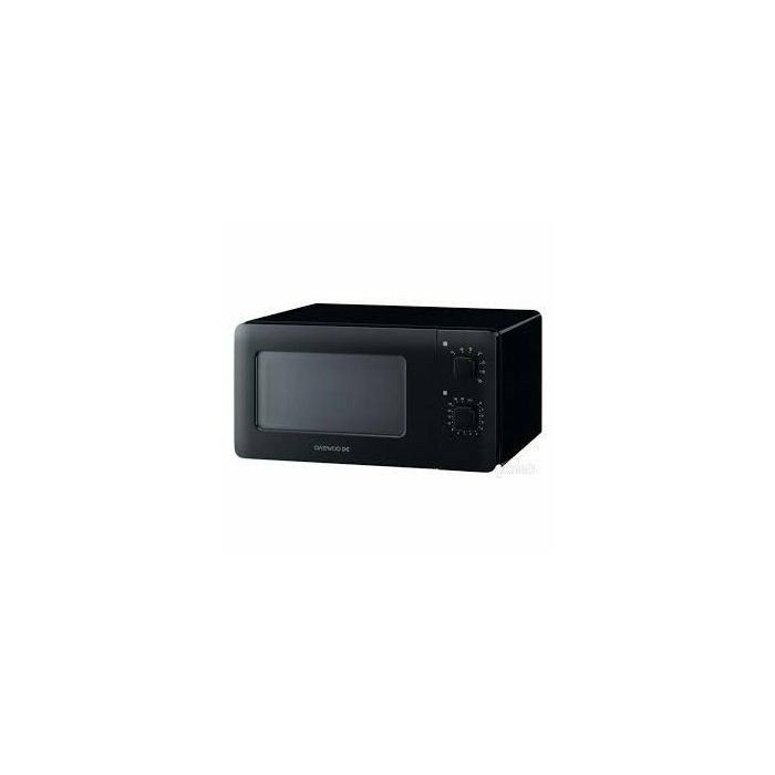 Daewoo KOR-5A07B Microwave oven, 15L capacity, 500W, Black DAEWOO Daewoo KOR-5A07B  Mechanical, 500 W, Black, Defrost function