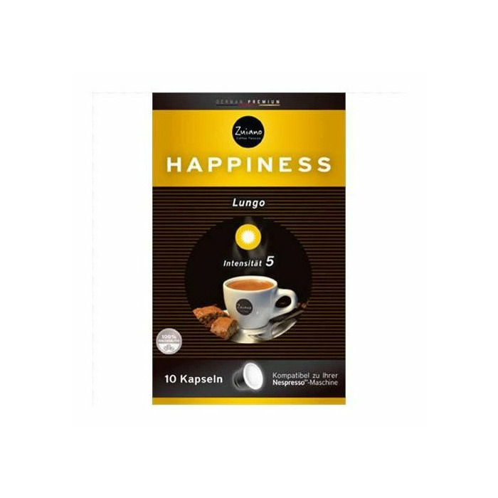 Zuiano Happiness 10 capsules, Germany, Coffee, 53 g
