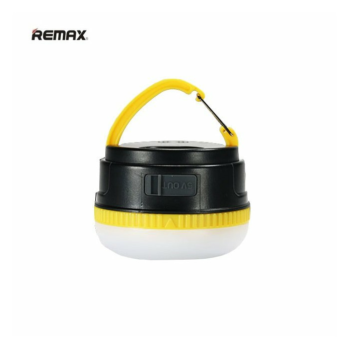 Remax RPL-17 3000mAh Power Bank USB Lādētājs 5V 1A + Piekarināms LED Lukturis Melns