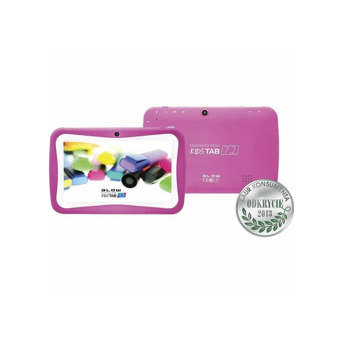 Tablet BLOW KidsTAB 7.4 pink + etui