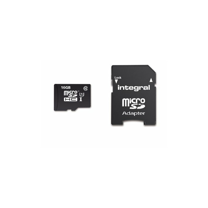 Integral Ultimapro Memory Card 16 Gb Microsdhc Class 10 Uhs I