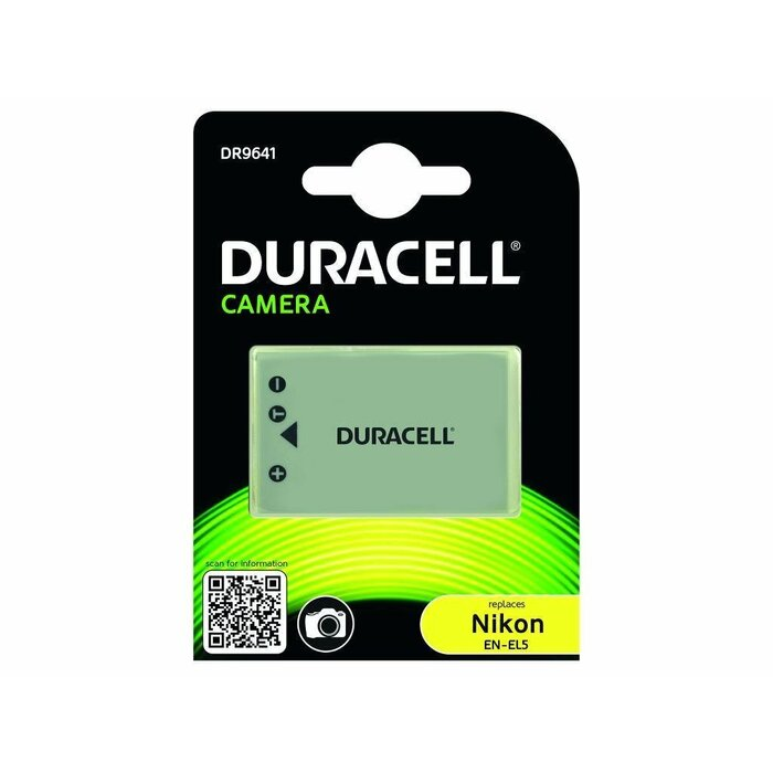 Duracell Camera Battery - replaces Nikon EN-EL5 Battery rechargeable battery