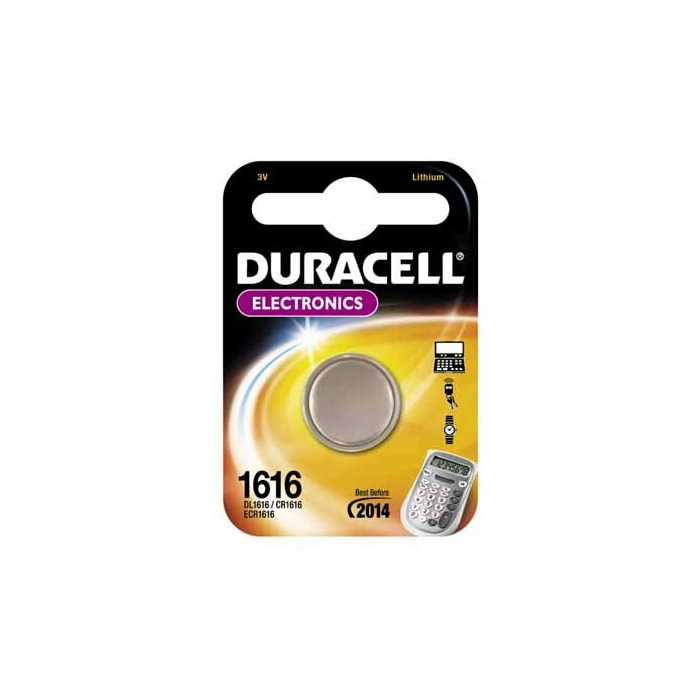 Duracell DL1616 non-rechargeable battery Lithium 3 V