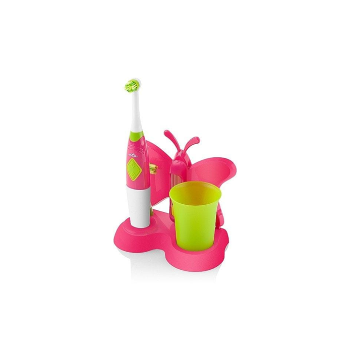 ETA Toothbrush with water cup and holder Sonetic  ETA129490070 Battery operated, For kids, Number of brush heads included 2, Pink
