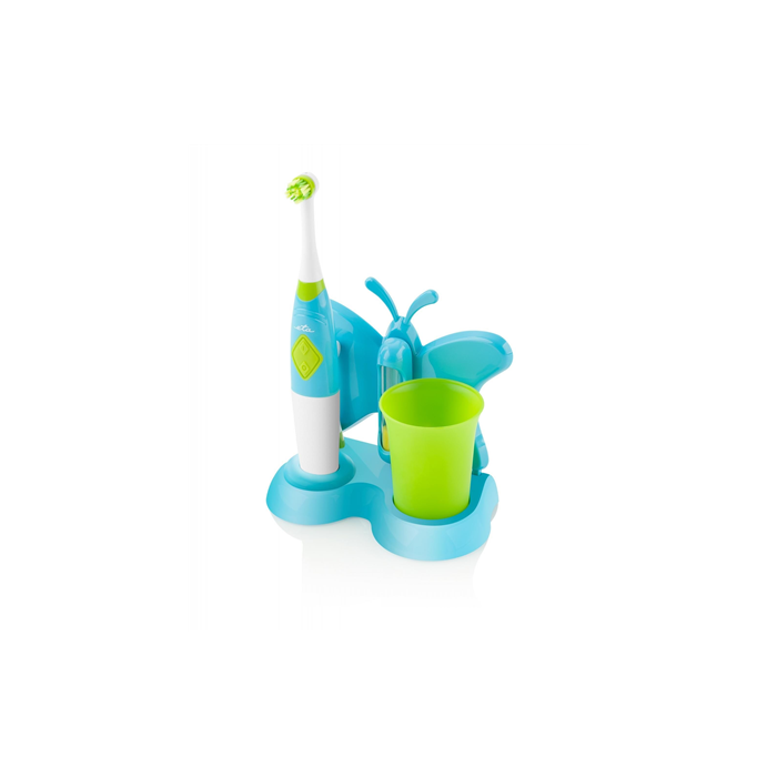 ETA Toothbrush with water cup and holder Sonetic  ETA129490080 Battery operated, For kids, Number of brush heads included 2, Blue