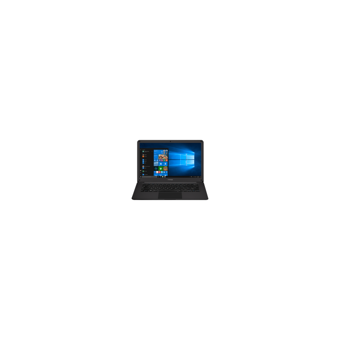 "Prestigio SmartBook 141 C2, 14.1"" (1920*1080) IPS (anti-Glare), Windows 10 Pro, up to 2.4GHz DC Intel Celeron N3350, 3GB DDR, 32GB Flash, BT 4.0, WiFi, Mini HDMI, HDD 2.5'' slot, RJ45 port, 0.3MP Cam, EN+RU kbd, 5000mAh, 7.4V bat, Slate grey"