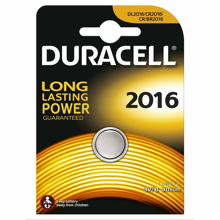 Duracell CR2016 D 1-BL (DL 2016) Single-use battery Lithium