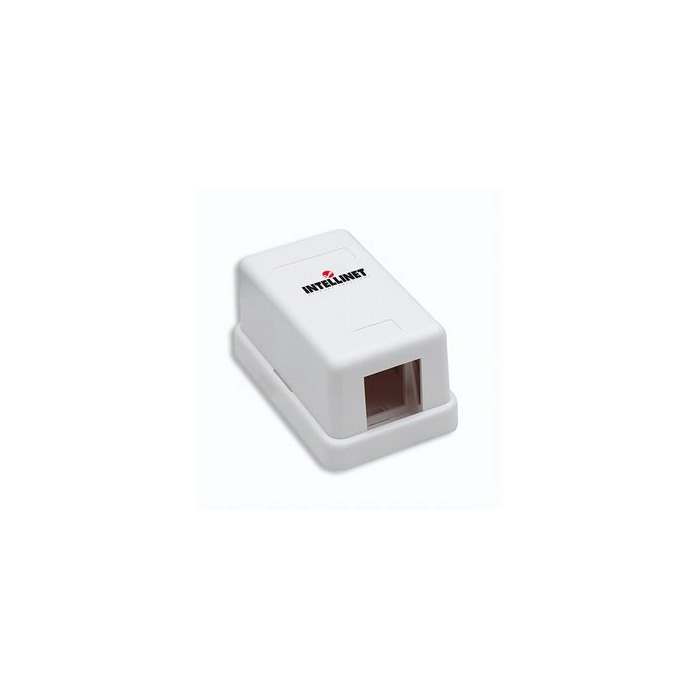 Intellinet 162739 White outlet box