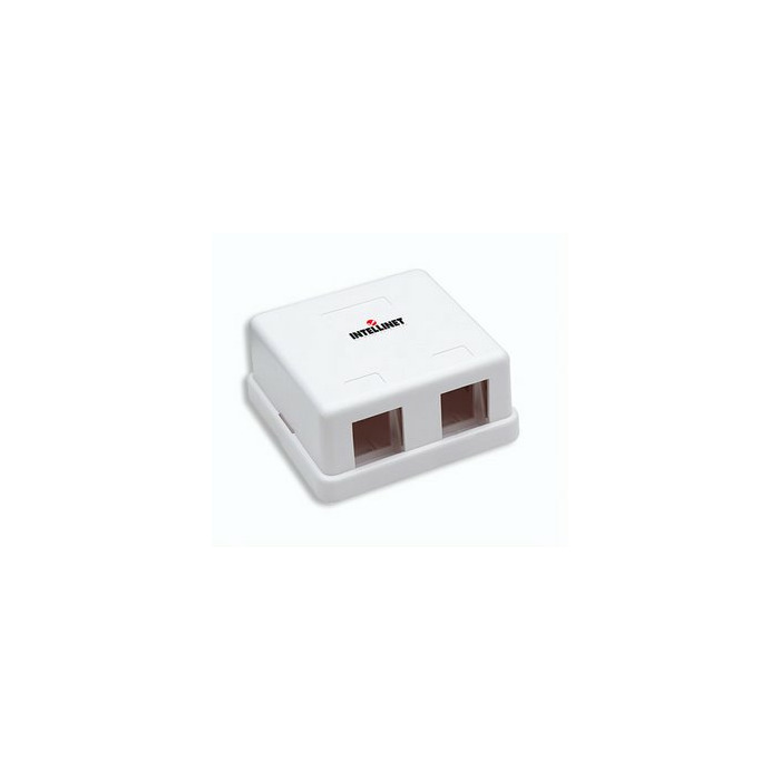 Intellinet 162852 White outlet box