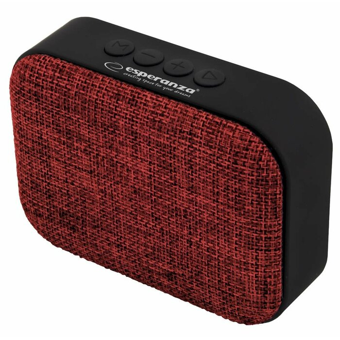 ESPERANZA EP129R SAMBA - BLUETOOTH SPEAKER WITH BUILT-IN FM RADIO