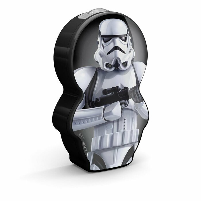 Philips Star Wars StormTrooper black LED Torch