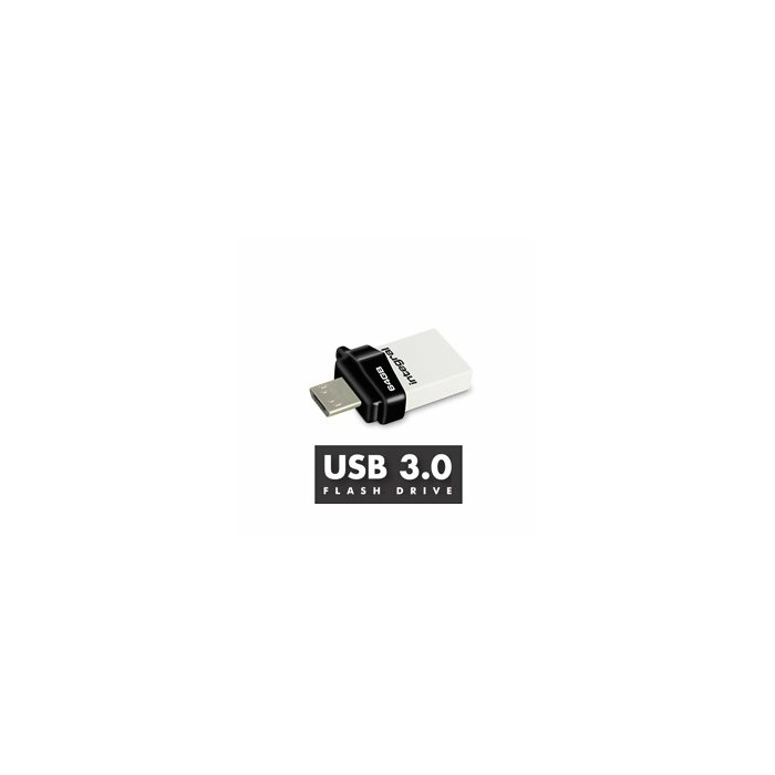 Integral MICRO FUSION USB 3.0 OTG 16GB USB 3.0 (3.1 Gen 1) USB Type-A connector White USB flash drive