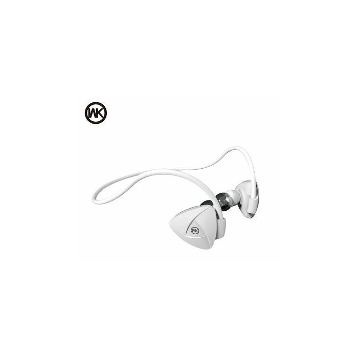 WK-Design BD600 Premium Bluetooth 4 1 / A2DP / HFP / HSP / AVRCP / Sport  Headsets White