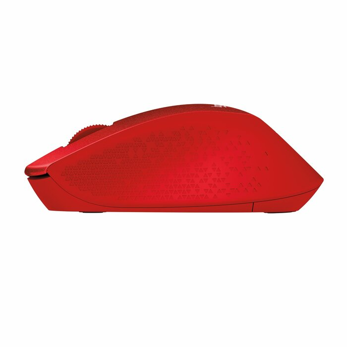 Logitech M330 mice RF Wireless Mechanical 1000 DPI Right-hand Red