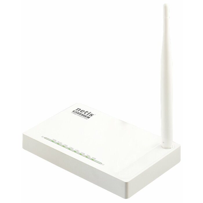 Netis System WF2411E Single-band (2.4 GHz) Fast Ethernet White wireless router