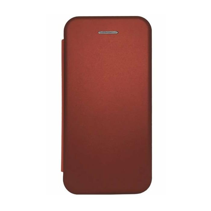Evelatus Samsung A7 2018 Book Case  Wine Red