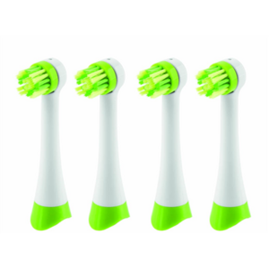 ETA Toothbrush replacement White/ green, Number of brush heads included 4