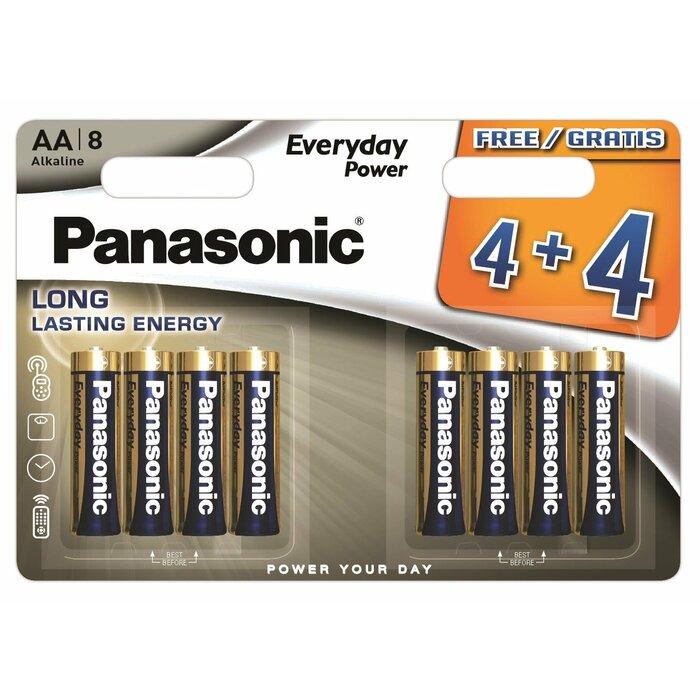 Panasonic Everyday Power battery LR6EPS/8BW (4+4)
