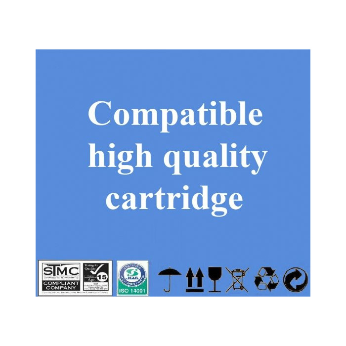 Compatible Hewlett-Packard 10 Bk (C4840a) Black, 1200 p.