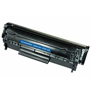 Compatible new Hewlett-Packard Q2612A / Canon FX-10 Black, 2000 p.